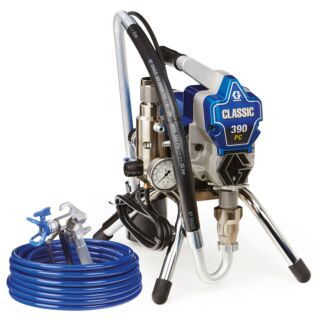 Graco Classic S 390 PC Airless Sprayer, Stand 110V