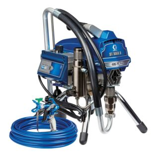 Graco ST Max II 495 PC Pro Airless Sprayer, BlueLink, Stand Mount 110V