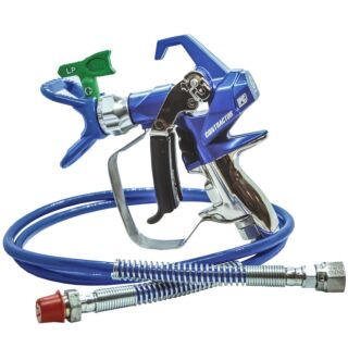 Graco Contractor PC Compact Airless Gun and Hose Kit inc: 1.4m Bluemax II Airless Hose & RacX LP517 SwitchTip