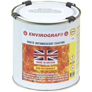 HW01/F Intumescent Paint White