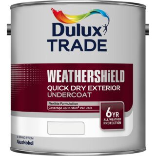 Dulux Trade Weathershield Quick Drying Exterior Gloss - Mixed Colour