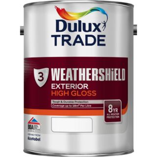 Dulux Trade Weathershield Exterior High Gloss - Mixed Colour