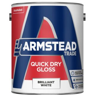 Armstead Trade Quick Drying Gloss - Brilliant White