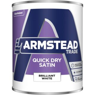 Armstead Trade Quick Dry Satin Finish - White