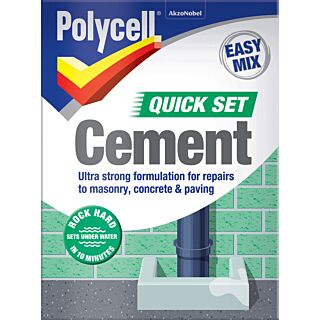 Polycell Trade Polyfilla Quick Set Cement 2kg