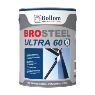 Bolloms Brosteel Ultra 60 Intumescent Coating - White