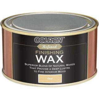 Colron Refined Finishing Wax - Clear 325gm
