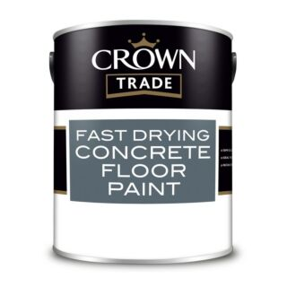 Crown Trade Fast Drying Concrete Floor Paint - Grey