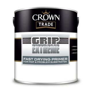 Crown Trade Grip Extreme Fast Drying Primer - White