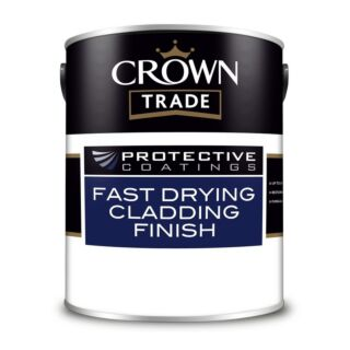 Crown Trade Fast Drying Cladding Finish - White