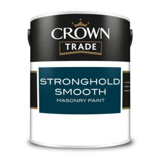 Crown Trade Stronghold Smooth Masonry Paint - Mixed Colour