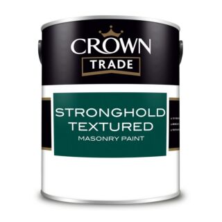 Crown Trade Stronghold Textured Masonry Paint - Mixed Colour