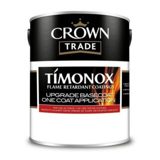 Crown Trade Timonox Intumescent Basecoat - White