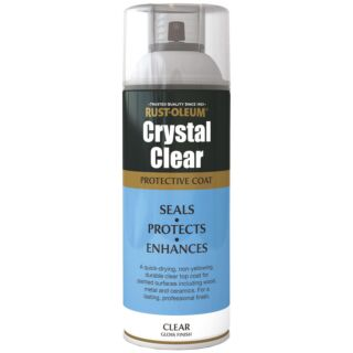 Rustoleum Crystal Clear Protective Coating 400ml