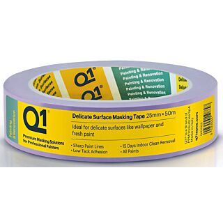 Q1 Delicate Surface Masking Tape Single Roll