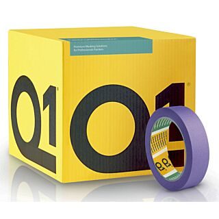 Q1 Delicate Surface Masking Tape 25mm - 36 Box