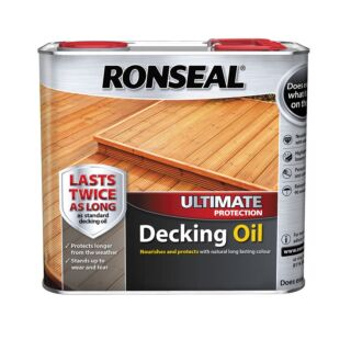 Ronseal Ultimate Protection Decking Oil - Natural