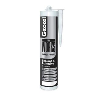 Geocel The Works Wet or Dry Sealant & Adhesive 290ml