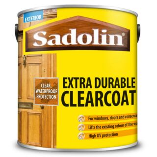 Sadolin Extra Durable Clear Coat - Clear Gloss