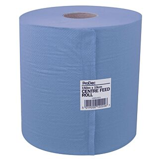 ProDec Roll Blue Centre Feed Towel 150m