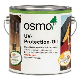 Osmo UV Protection Oil - Clear Satin 20% Extra Free